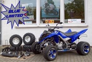Yamaha Quad YFM 700R Blue-Limited (LoF) Sport-Edition 2x bereift