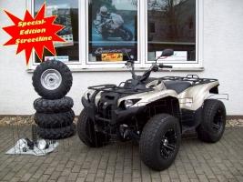 Yamaha ATV YFM 700 Grizzly 4WD EPS Special-Edition Streetline