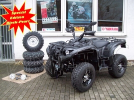 Yamaha ATV YFM 700 Grizzly 4WD EPS SE Black-Pearl-Tattoo