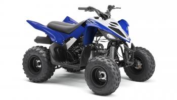 Yamaha Quad YFM 90 R 2WD blau