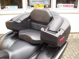 Koffer hinten mit Sitz und Armauflagen (universal)