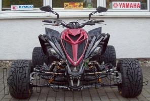 Yamaha Quad YFM 700R Special-Edition Black-Flat (LoF) 2x bereift