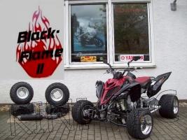 Yamaha Quad YFM 700R SE Black-Flame II (LoF-Zulassung) 2x bereif