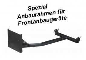 Schneeräumschild/Kehrmaschine Anbaurahmen Tielbürger (div. Model