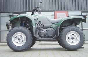 Sport-Fahrwerk Wilbers RSM 631 (Yamaha Grizzly 700)