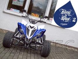 Yamaha Quad YFM 700R King-Blue-2 (LoF-Zulassung) 2x bereift