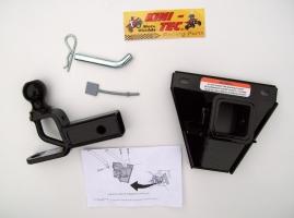 Anhängerkupplung mit Schnellwechselaufnahme (Yamaha Grizzly 550)