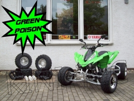 Kawasaki KFX 450R Green-Poison (LoF-Zulassung) doppelt Bereift