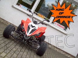 Yamaha Quad YFM 700R King-Orange (LoF-Zulassung) 2x bereift