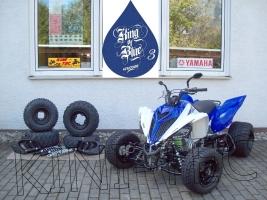 Yamaha Quad YFM 700R King-Blue-3 (LoF-Zulassung) 2x bereift