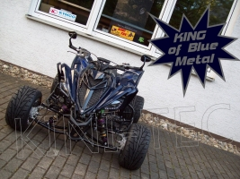 Yamaha Quad YFM 700R SE King-Blue Metal (LoF) 2x bereift