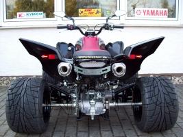 Auspuff DMC Komplettanlage Double-Afterburner (Yamaha YFM 700R)