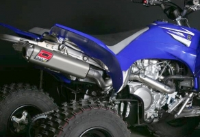 Auspuff DMC Slip-On Competition (Yamaha YFM 700R bis 2014)