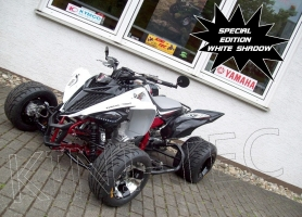 Yamaha Quad YFM 700R SE White-Shadow SM (LoF-Zulassung) 2x berei