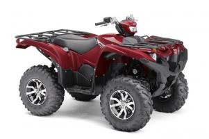 Yamaha ATV YFM 700 Grizzly 4WD SE Ridge-Red