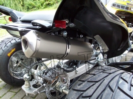 Auspuff SSSupersport Slip-On (Yamaha YFM 700 R) bis 2014