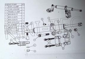 Lenkungsdämpfer Attack Shox II (Yamaha 700 R)