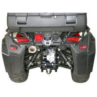 Bumper Heckrammschutz (Kymco MXU 550i)