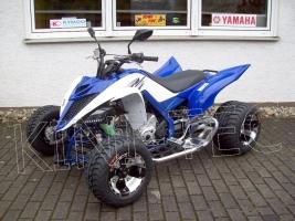 Yamaha Quad YFM 700R King-Blue-4 (LoF-Zulassung) 2x bereift