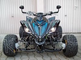 Yamaha Quad YFM 700R SE Black-Ice (LoF-Zulassung) 2x bereift