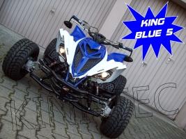 Yamaha Quad YFM 700R King-Blue-5 (LoF-Zulassung) 2x bereift