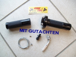 Drehgasgriff-Kit mit TÜV (Universal)