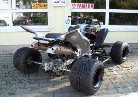 Yamaha Quad YFM 700R Grey-Stuff-Special (LoF-Zulassung) 2x bereift