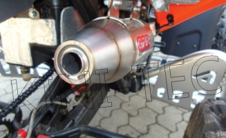 Auspuff G.P.R. Slip-On (Access/Triton Enduro/Supermoto 400 EFI)