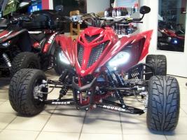 Yamaha Quad YFM 700R SE Great-Red (LoF-Zulassung) 2x bereift