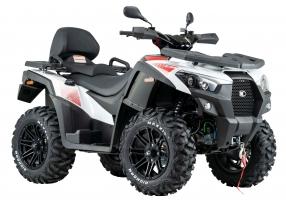 Kymco ATV MXU 700i T EPS IRS LOF Zugmaschine weiss-rot