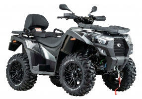 Kymco ATV MXU 700i T EPS IRS LOF Zugmaschine titan-silber