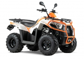 Kymco ATV MXU 300i T Offroad LOF weiss-orange