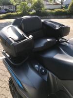 Yamaha ATV YFM 700 Grizzly 4WD EPS Special-Edition Black-Dark LoF neuwertig nur 726 km